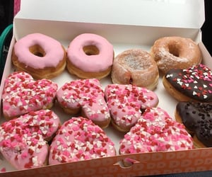 delicious, donuts, and dessert image