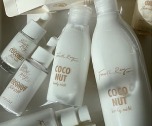 care, coconut, and skin image