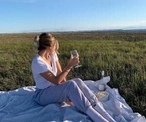 picnic, fashion, and nature image