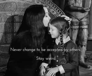 accept, never, and weird image