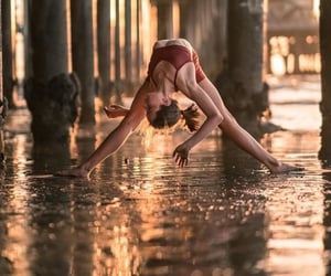 backbend, dance, and flexibility image