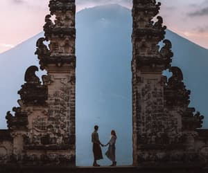 bali, gate, and summer image