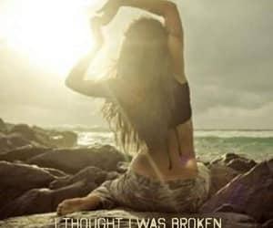 broken, concept, and hurt image