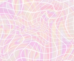 grid, light pink, and aesthetic image