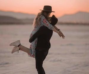 be mine, cute couple, and hug image
