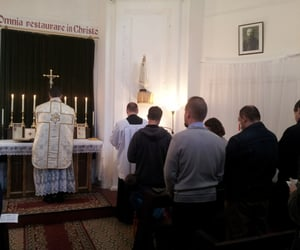 latin, priest, and katholisch image