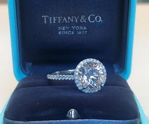 diamonds, luxurious, and tiffany&co image