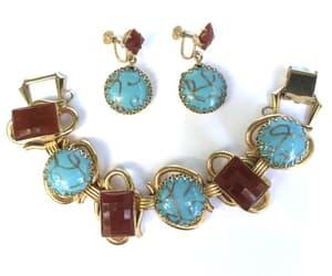 etsy, bracelet earrings, and art glass bracelet image