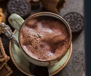 chocolate, coffee, and drinks image