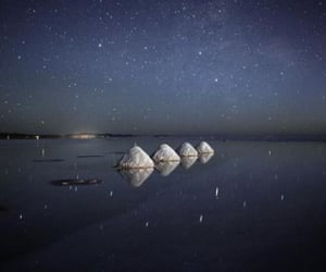 beach, space, and stones image