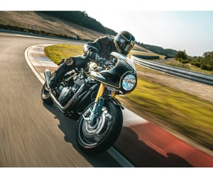 motorcycle and riding image