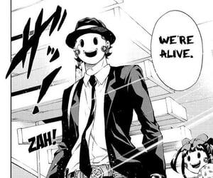 tenkuu shinpan, sniper mask, and high rise invasion image