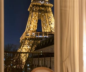 eiffel tower and travel image