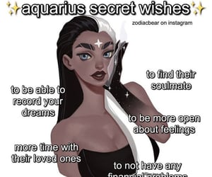 aquarius, astrology, and signs image