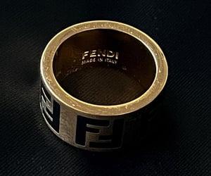 fendi, ring, and aesthetic image