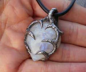 moonstone pendant, ancient necklace, and womennecklace image