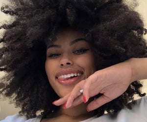 Afro, beautiful, and curly image
