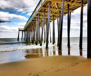 fishing, atlantic ocean, and pier image