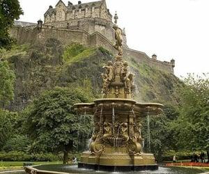 britain, castle, and edinburgh image
