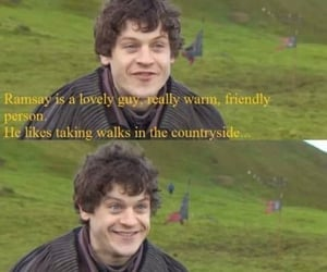 game of thrones and ramsay bolton image