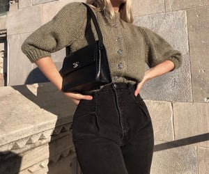blogger, blonde, and casual image