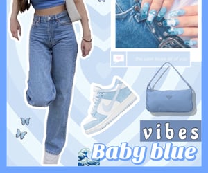 baby blue, bags, and grunge image