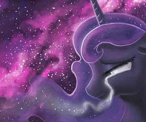 my little pony, luna, and MLP image
