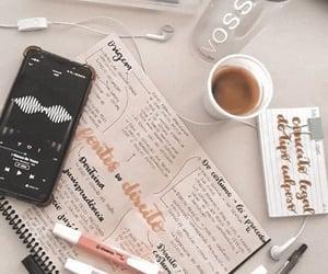 aesthetic, studying, and handwriting image
