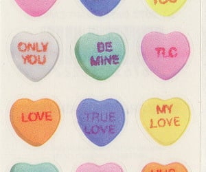 stickers, conversation hearts, and paperhouse image
