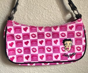 mini bags, betty boop, and fashion image