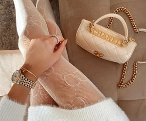 bags, chanel, and designer image