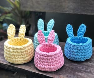 aesthetic, colors, and crochet image