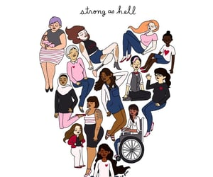 woman, feminist, and equality image