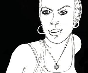 bombshell, caricatura, and cartoon image