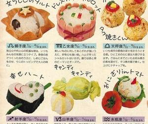 food, japanese, and magazine image