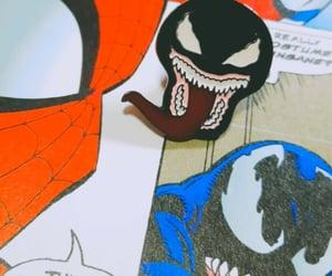 Marvel, comic, and symbiote image