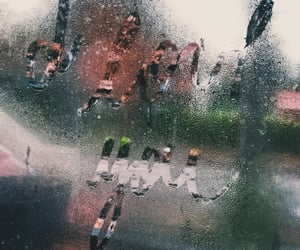 baby, cry, and rain image