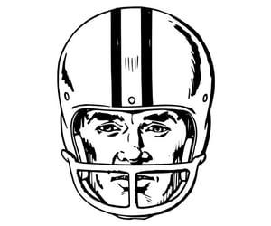 football, helmet, and new england image