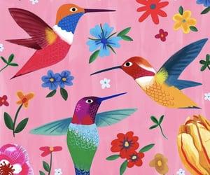 art, birds, and bubblegum image
