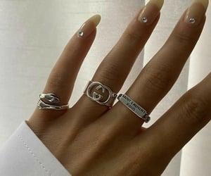 gold, gucci, and nails image