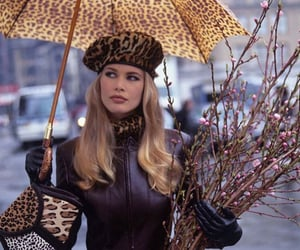 fashion, 90s, and Claudia Schiffer image