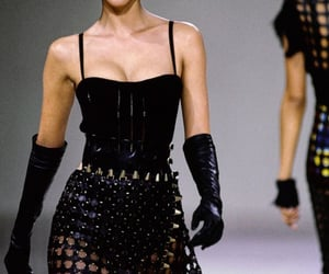 runway, 90s, and fashion image