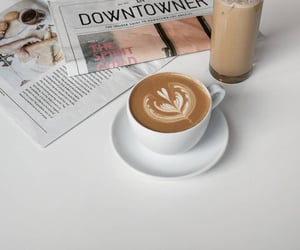 aesthetic, latte, and coffee image