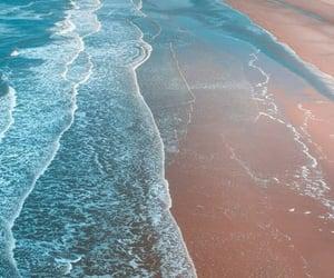 blue, beach, and dessert image