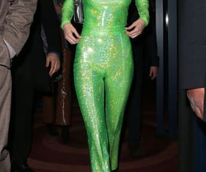 green, neon, and jumpsuit image