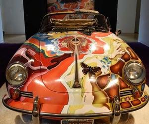 antique, car, and retro image