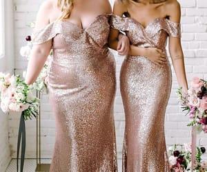wedding party dresses, vestido de fiesta, and cheap bridesmaid dresses image