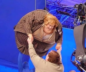 magic, behind the scenes, and harry potter image