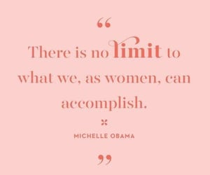 inspirational, michelle obama, and woman's day image