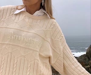 fashion, aesthetic, and Burberry image
